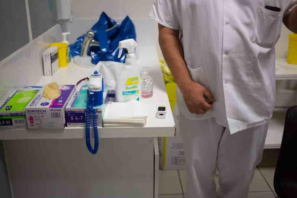 Centre médical de consultation Covid-19 de Perpignan - Photo Idhir Baha