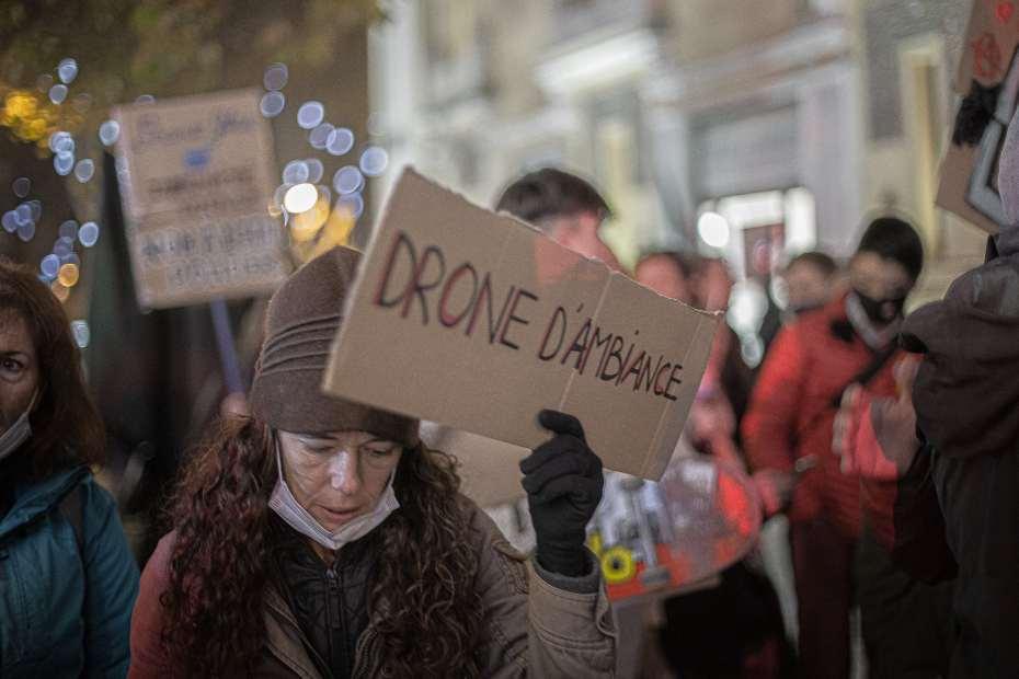 03/12/2020 Manifestation anti-loi Sécurité Globale à Perpignan © Idhir Baha