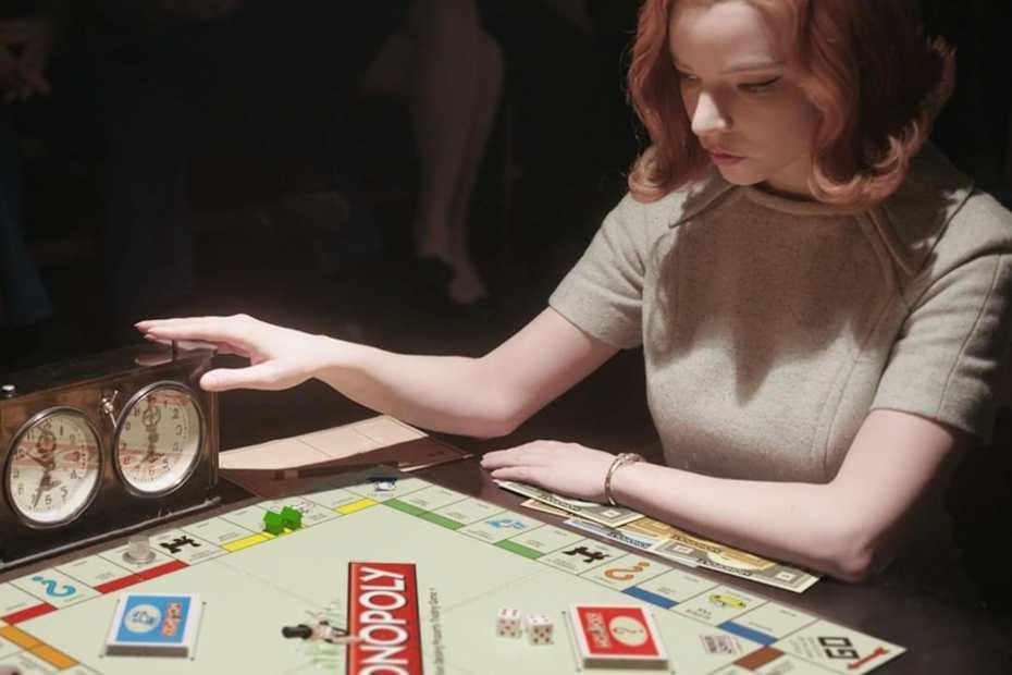 """Parodie de la série """"Le jeu de la Dame"""" © Netflix UK Ireland"""