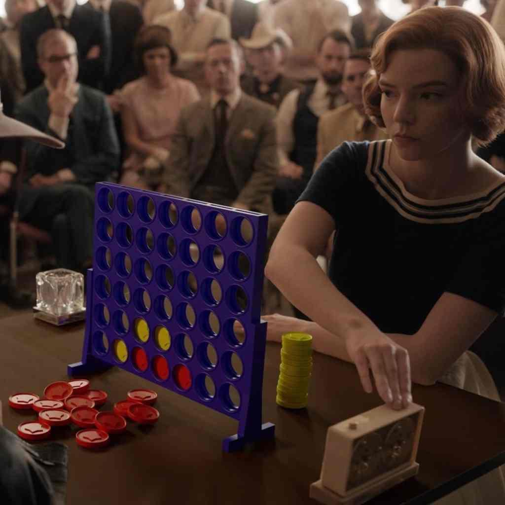 """Parodie de la série """"Le jeu de la Dame"""" signée Netflix UK & Ireland"""