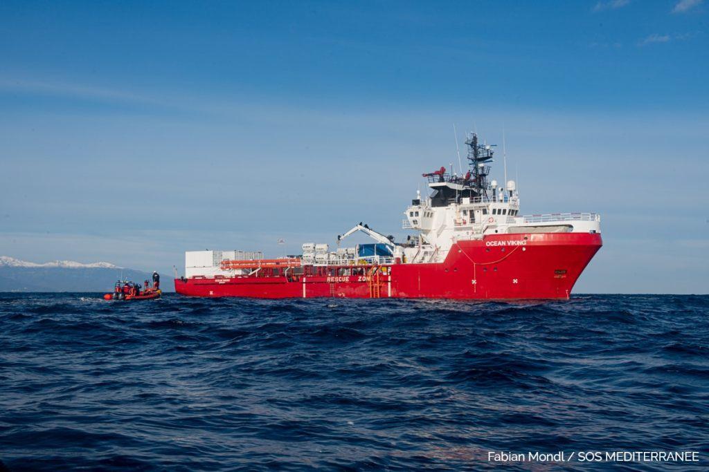 © Fabian Mondl pour SOS Méditerranée