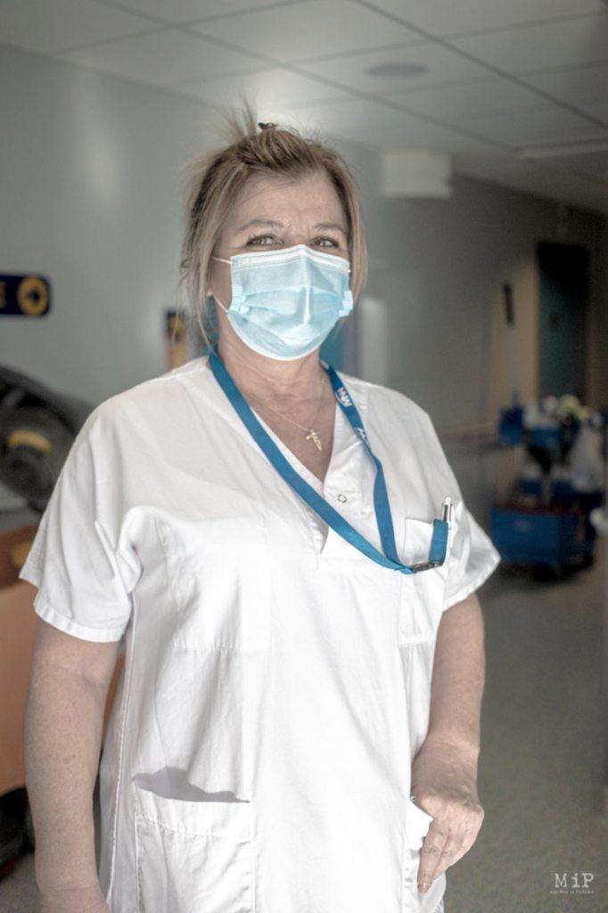 Carole, Agent des Services Hospitaliers - SMIT - Credit photo Idhir Baha