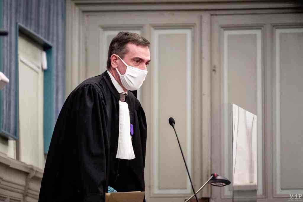 05/02/2021, Perpignan, France, Jean-David Cavaillé, procureur de la République © Arnaud Le Vu / MiP