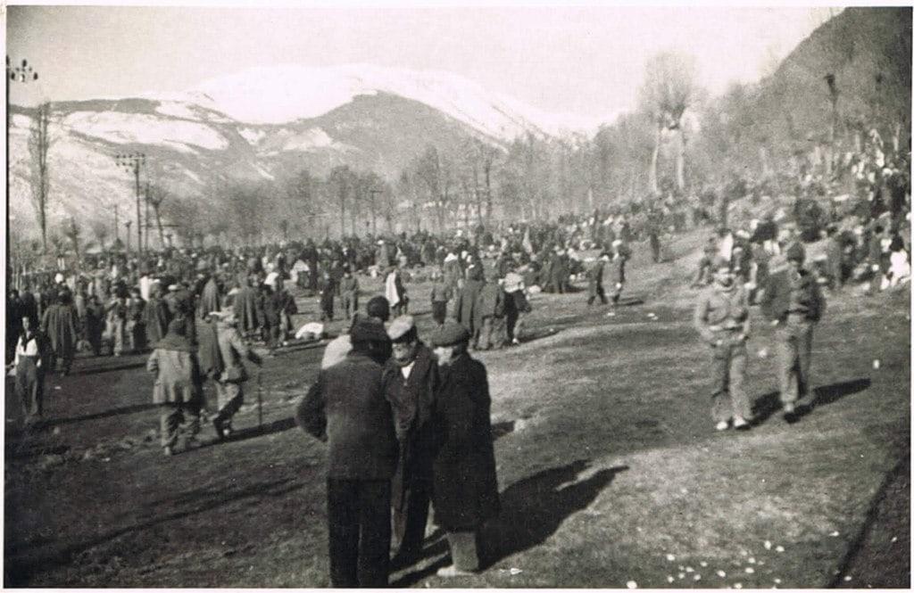 Réfugiés et exilés de la guerre d'Espagne à la frontière de Puigcerda et des Pyrénées-Orientales en 1936. Tylwyth Eldar