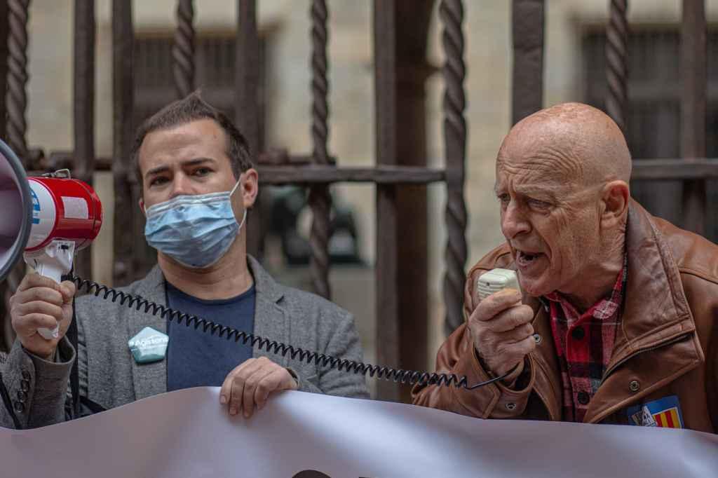 Joan Nou (à gauche sur la photo) pour Agissons en Pays Catalan © Idhir Baha