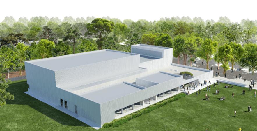 Projet architectural du gymnase José Calle