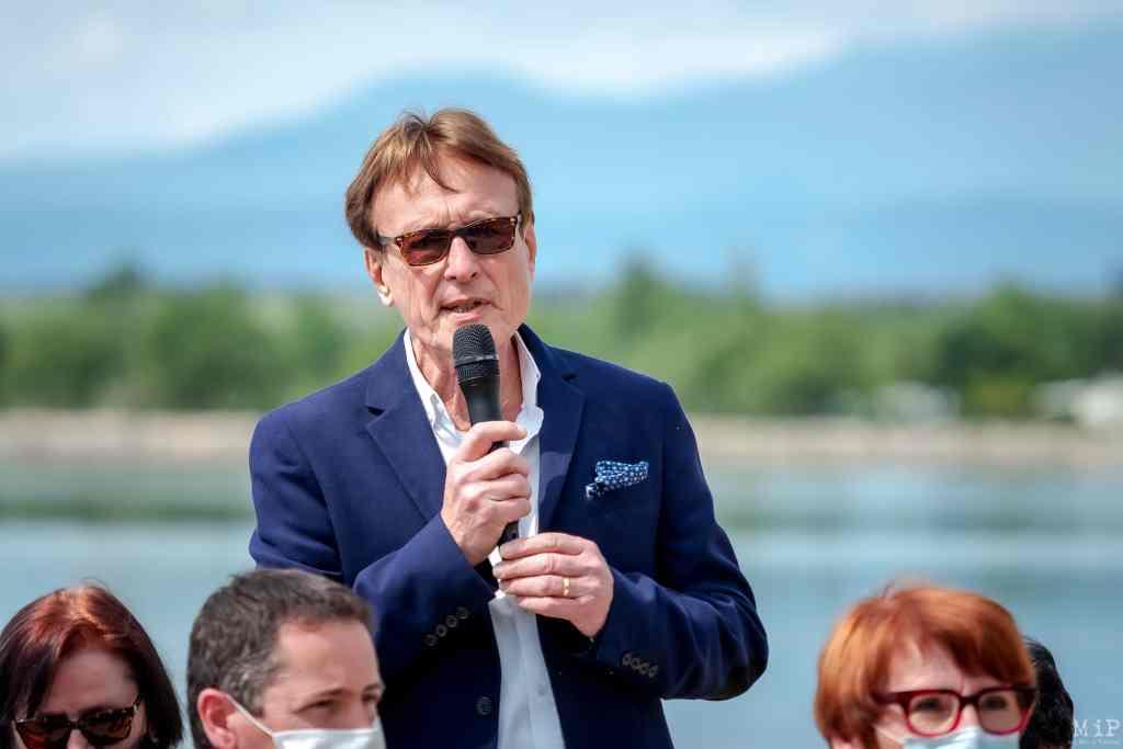 Robert Garrabé, maire de Saint-Jean-Pla de Corts.