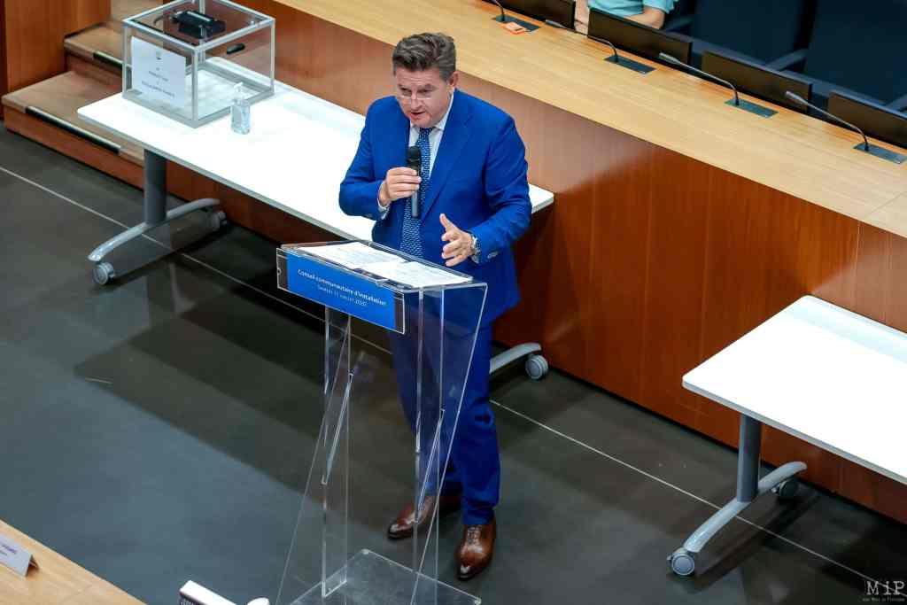 11/07/2020, Perpignan, France, Alain Ferrand, maire Le Barcarès © Arnaud Le Vu / MiP