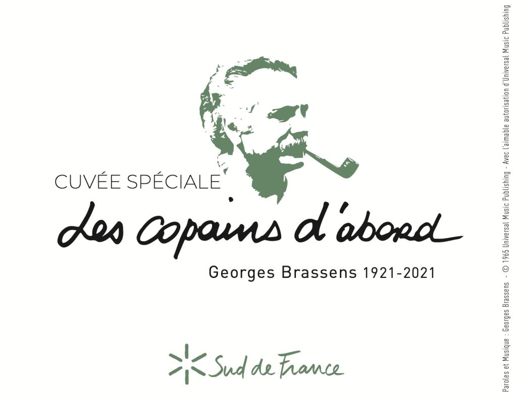 Une cuvée spéciale Georges Brassens pour son Centenaire.