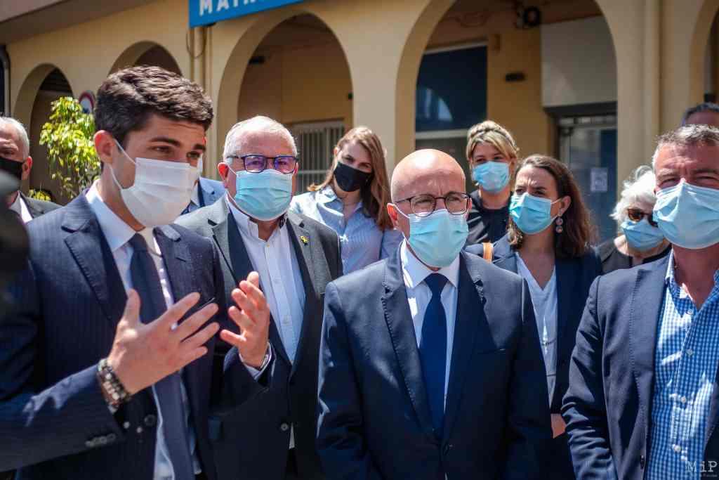 FRANCE - ERIC CIOTTI SUPPORTS AURELIEN PRADIE DURING THE REGIONAL ELECTION
