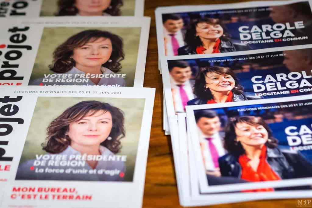 FRANCE - CAROLE DELGA - REGIONAL ELECTIONS - OCCITANIE
