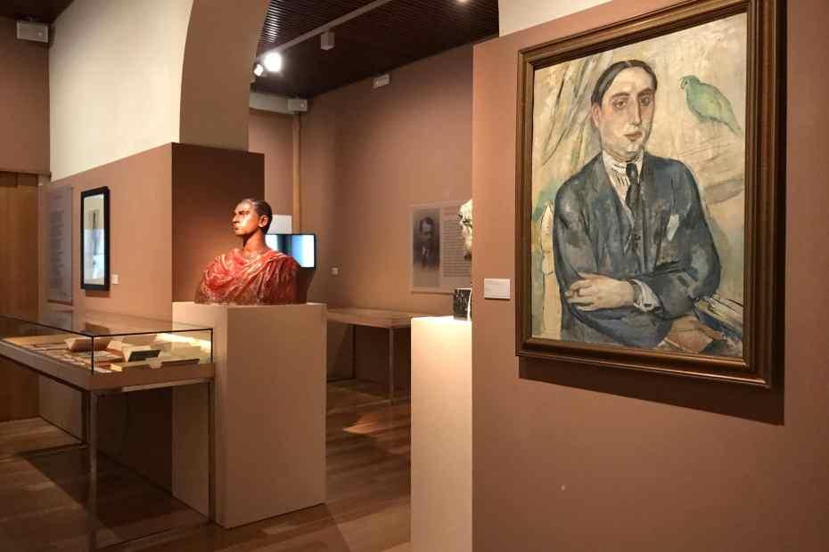 Plan général de l'exposition temporaire à la Casa Masó, qui se concentre sur l'almanach Noucentista publié en 1911. Image reproduite avec l'aimable autorisation de la fondation Rafael Masó. Le 6 octobre 2021