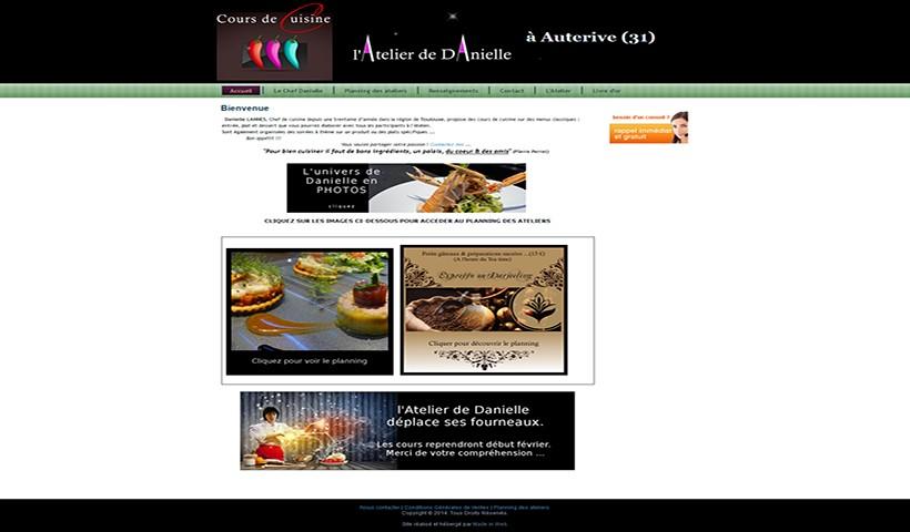 L'Atelier de Danielle - Un site réalisé et hébergé par Made in Web