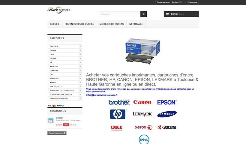 Buro Services - Un site suivi par Made in Web