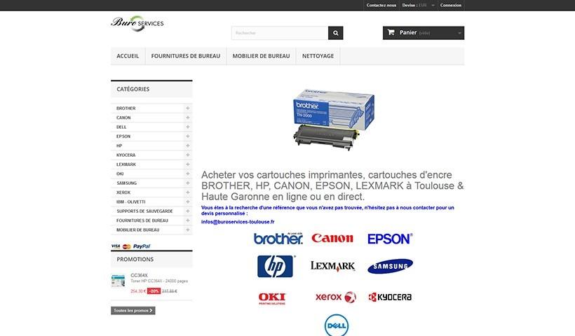 Buro Services - Un site suivi par Made in Web