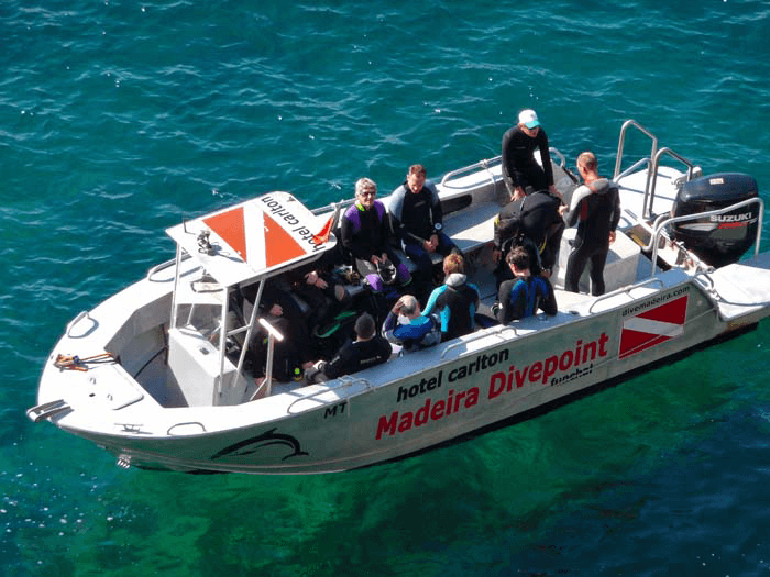 Madeira Divepoint Boat