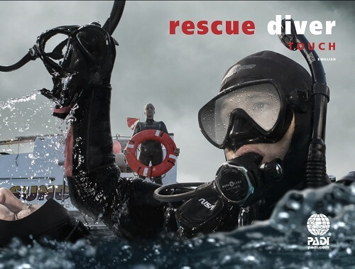 PADI RESCUE DIVER COURSE CERTIFICATION TOUCH