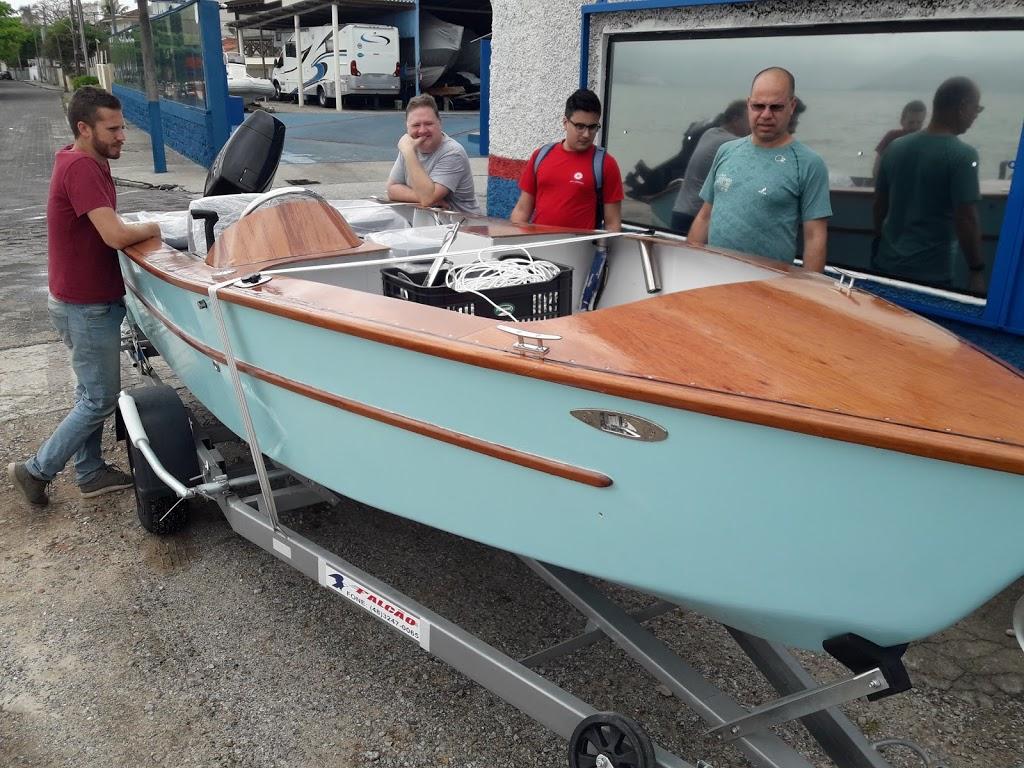 Como legalizar um barco construído em casa