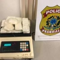 PF prende passageiro com  cocaína e maconha no Aeroporto de Porto Velho