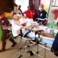 Jovem é baleado com vários tiros em frente de residência em Porto Velho