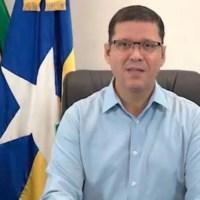 Governador de Rondônia faz live informando sua situação de saúde e informa que ficará afastado por 14 dias