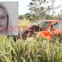 Mulher perde direção de veículo, capota e morre em Colorado do Oeste