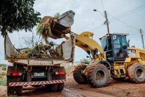 """vilhena: Semosp inicia operação """"Cidade Limpa""""  no bairro São Jerônimo"""