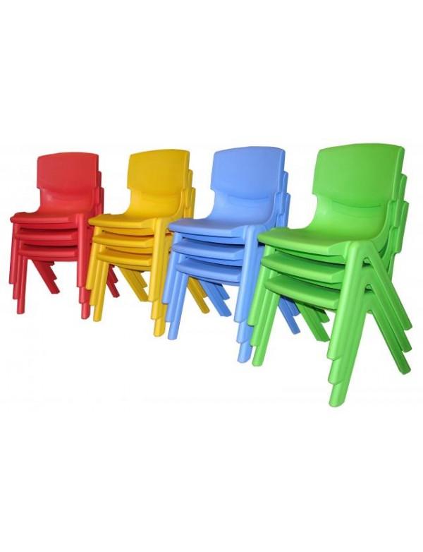 chaise empilable plastique 26 cm lot de 2 5 ou 10