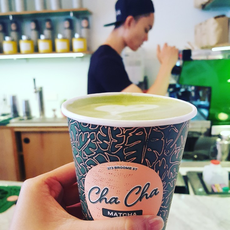 Cha Cha Matcha // 373 Broome St, New York, NY 10013