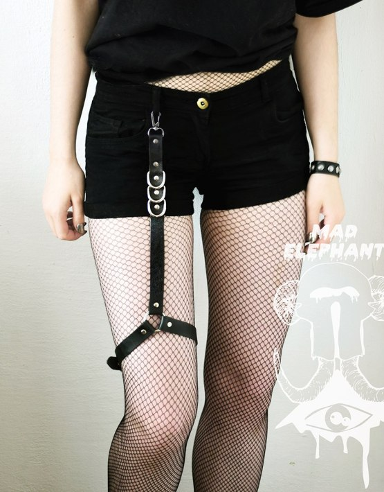 thigh leg harness garter