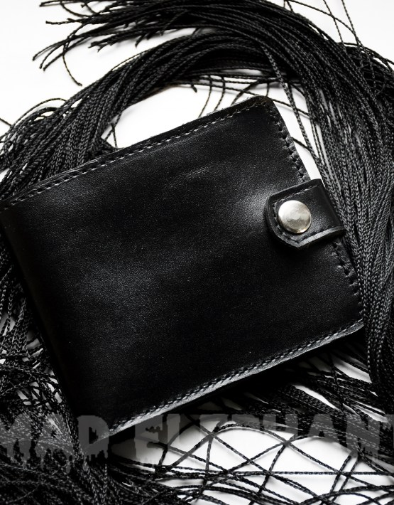 mens leather wallet with coin holder