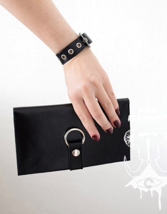 gothic womens wallet