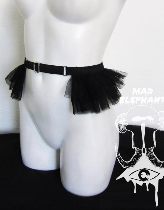 fetish tutu belt