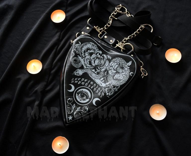leather ouija bag