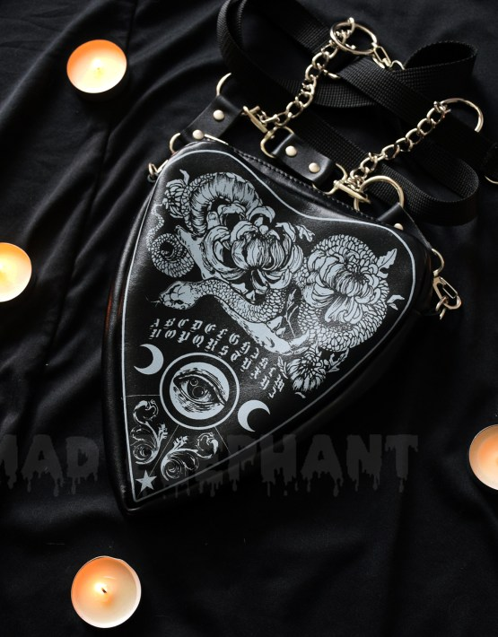 leather ouija bag