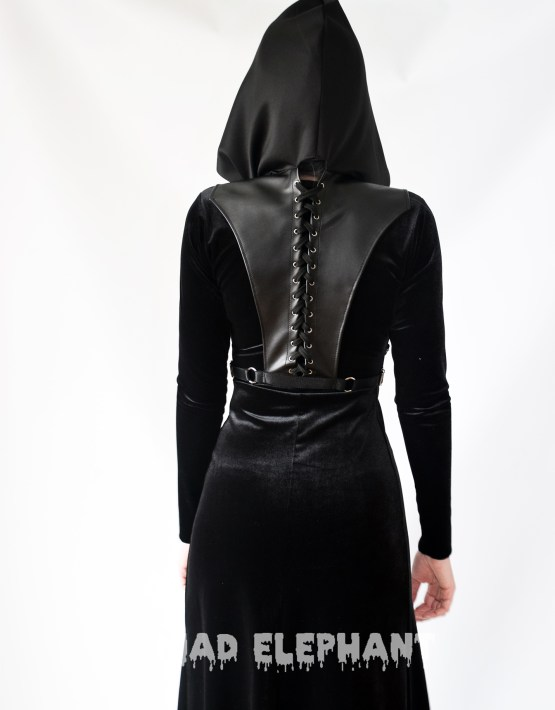 witch hood dress