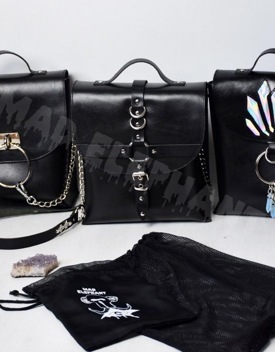 black gothic bags