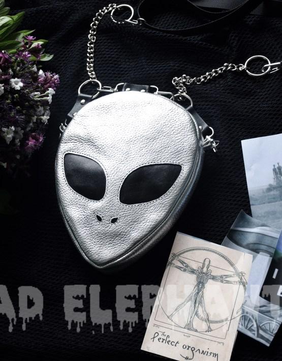 alien head bag