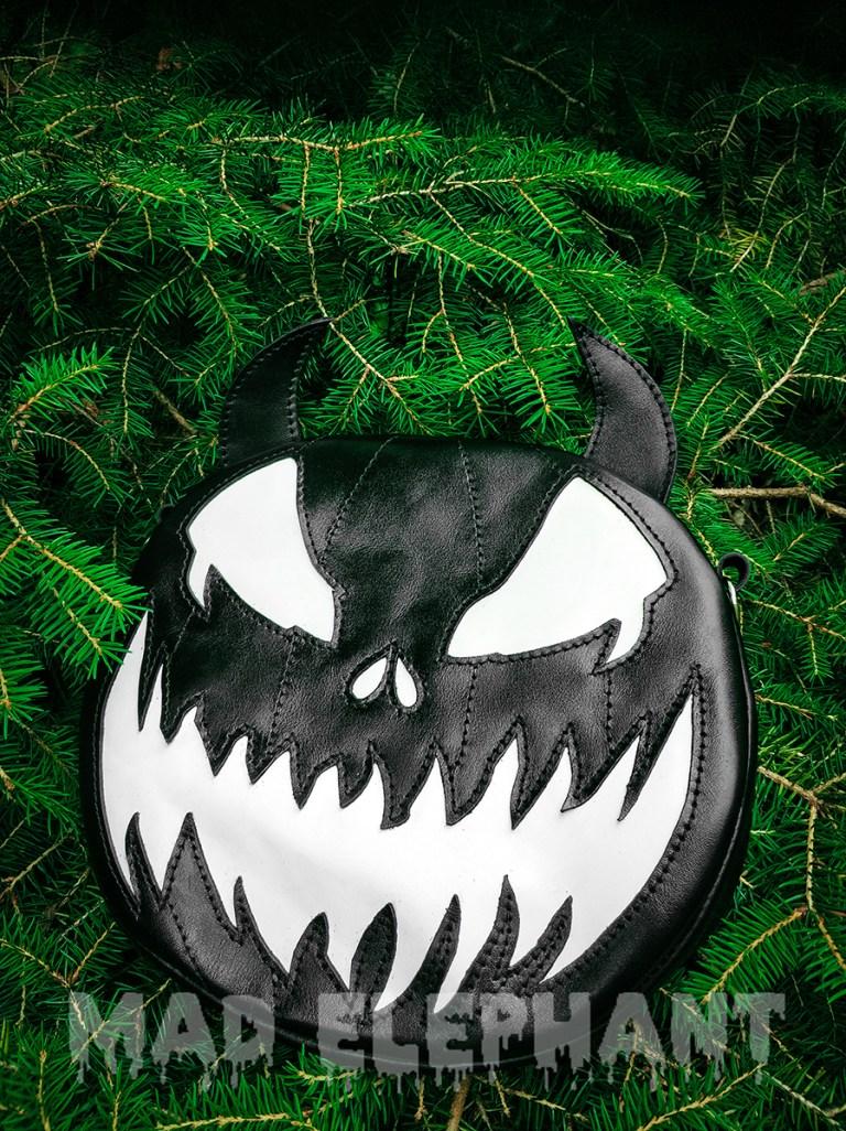 evil pumpkin purse
