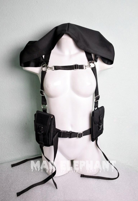 techwear harness