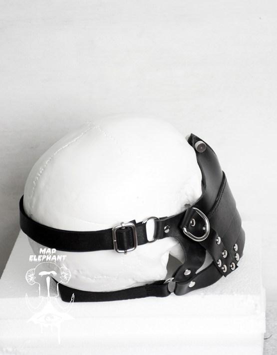 steampunk mask half