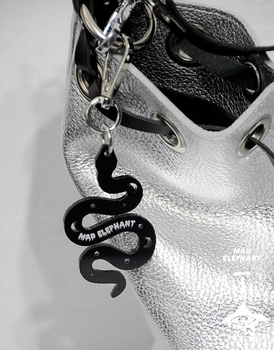 snake keyring