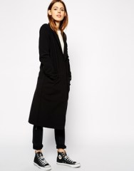 ASOS Midi fall Coats With Contrast Lining