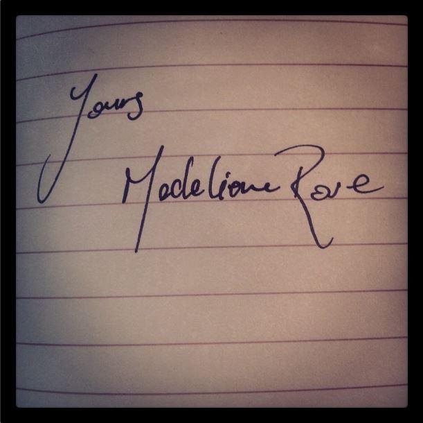 letters madeliene rose