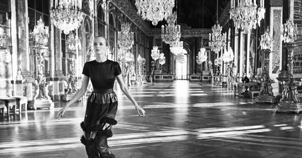 on the run Dior-Advert-Versailles