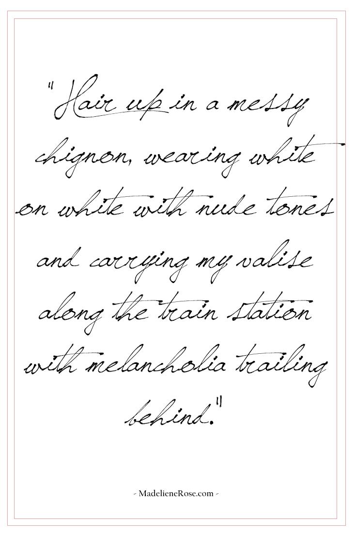 melancholia quote