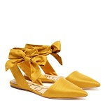 flats yellow shoes