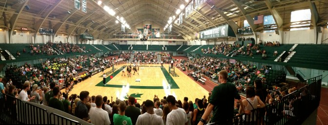 Volleyball at Jenison Fieldhouse