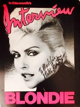 DebbieBlondieAutograph