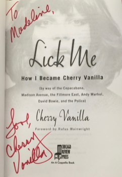 CherryAutographBook